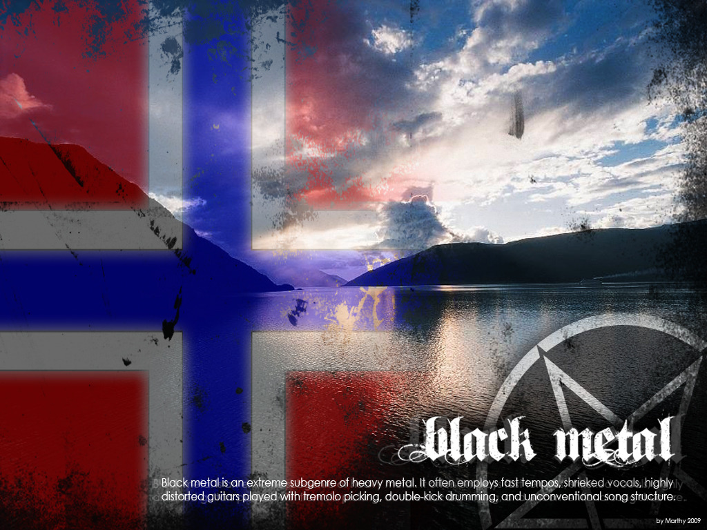 Norway. Black Maytul.