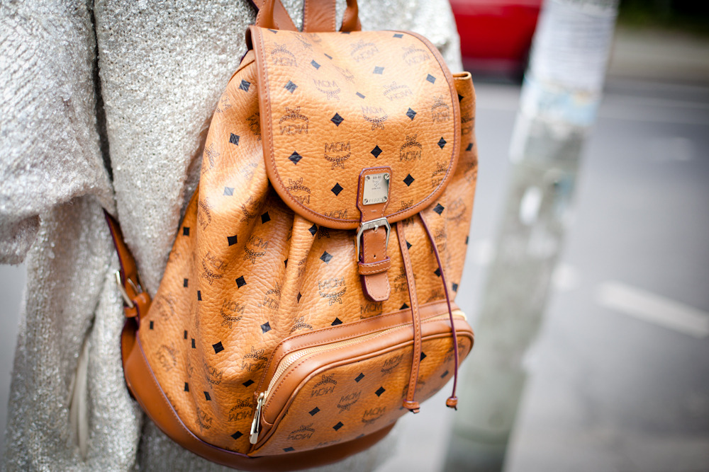 topshop:  The backpack is always a nice alternative to your arm candy.