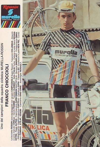 More kit inspiration | Franco Chioccioli - Murella Rossin