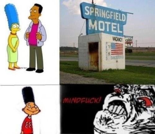 If Marge and Karl.  Mindfuck indeed.