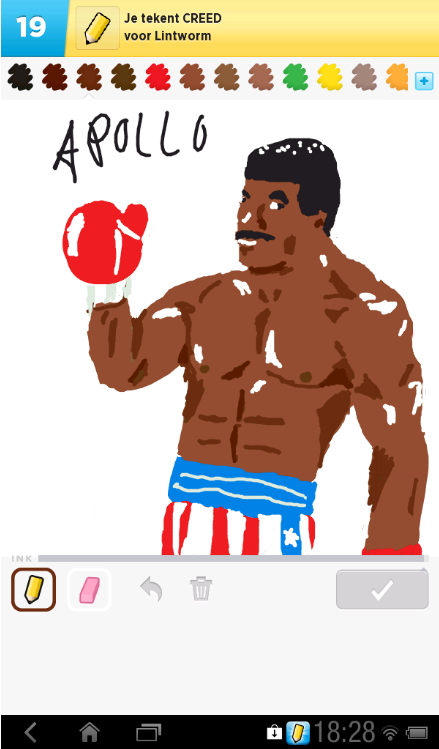 Apollo Creed. Submitted by Lamain.