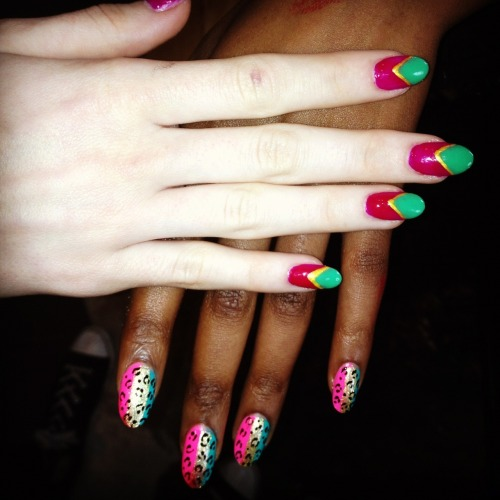 Check out the nails we did for Village Bicycle recently!!