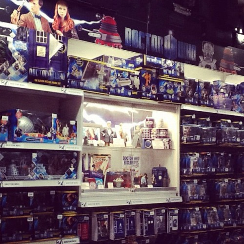 Basically nerd heaven #doctorwho  (Taken with Instagram at Forbidden Planet)