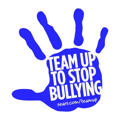 "Sears Launches ""Team Up To Stop Bullying"" Sears launches Team Up To Stop Bullying, a first-of-its-kind web portal that connects students, parents, educators and communities to solutions for their bullying problems.  Check out Sears.com/teamup for more information."