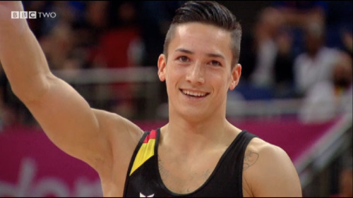 Marcel Nguyen is far too hot, so glad he won silver!