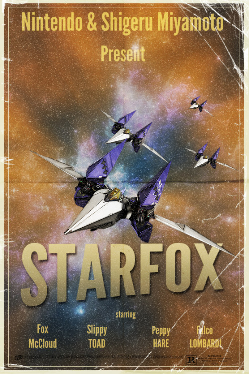 videogamenostalgia:  Tribute to Starfox created and submitted Segap