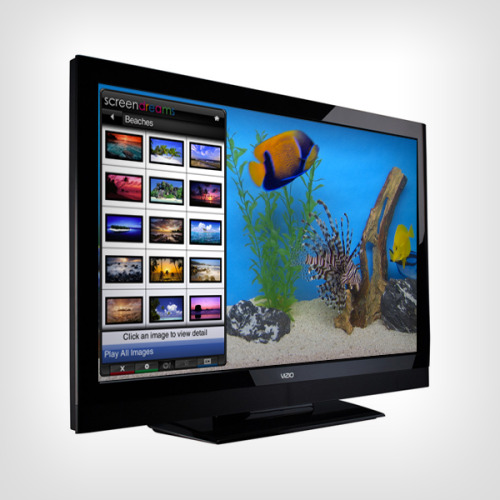 VIZIO Internet App of the Week: Screen Dreams It's the first day of August and if you are looking to bring the vacation to your TV screen make sure to check out Screen Dreams on your VIZIO Internet connected HDTV. Ex