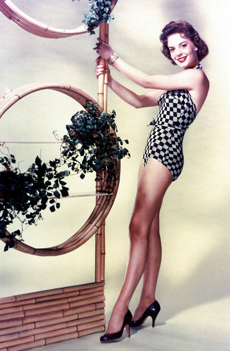 Natalie Wood in swimwear