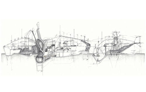 drawingarchitecture:  The Environmental Syntax Natalie Gall