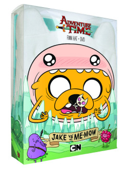 "adventuretime:  Adventure Time: Jake vs Me-Mow DVD in Stores October 2 Hey, remember way back to yesterday we asked which episodes you'd like to see on the next Adventure Time compilation DVD? And you looked at the choices and thought to yourself, ""Where's ""Me-Mow?"" Where's ""Susan Strong?"" And, where are ""Too Young"" and ""Thank You?"" for Gob's sake?"" Well, it's because they're on Adventure Time: Jake vs Me-Mow, the next DVD compilation, available on October 2. Your choices from yesterday's post will be on the next, next DVD. Got that? Anyhoo, here are the DVDetails from Cartoon Net— OHMYGLOB YOU GET A FINN HAT WITH EACH DVD!!! Cartoon Network Brings Fan-Favorite Episodes – Bundled with Righteous Finn Hat! – to Latest Adventure Time DVD Release Adventure Time: Jake vs. Me-Mow! This October, fans of Cartoon Network's smash hit series, Adventure Time, can own a collection of their favorite episodes PLUS the iconic hat worn by one of its stars! Continuing its plan to release both episodic and full season releases to provide offers for fans of all ages, Cartoon Network announced the latest release in the Adventure Time DVD library, Adventure Time: Jake vs. Me-Mow! Featuring 16 episodes from the series' first four seasons, this must-have DVD bundle is the ultimate gift for any Finn-loving fan as it comes packaged with the character's iconic bear-hat – which regularly retails on its own for $20. Fans can own nearly three hours of content and a super rad hat perfect for Halloween, holiday or cosplay – for just $24.98 beginning October 2, 2012. Along with a Land of Ooo character gallery bonus feature, the list of episodes included in the Adventure Time: Jake vs. Me-Mow! DVD is: 1. Jake vs. Me-Mow 2. The Jiggler 3. What Is Life? 4. His Hero 5. Susan Strong 6. Belly of the Beast 7. Videomakers 8. Mortal Folly 9. Mortal Recoil 10. Too Young 11. Five Short Graybles 12. Thank You 13. Ocean of Fear 14. Goliad 15. Dad's Dungeon 16. Another Way  want"