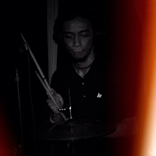 Dark! #drummer @macbethfootwear @macbethindonesia @griffonsarmy #macbethfootwear #griffonsarmy #man #men #male #people #human #blackandwhite #bw (Taken with Instagram)
