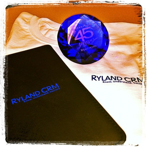 New work gear from #ryland #rylandhomes 👯 (Taken with Instagram at Ryland)