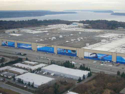 supplyside:  Boeing Plant, Everett, Washington.