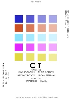 shutupdanceandcreate:  WERC presents: Color Theory Color Theory is an interactive music/art based show with Kilo Robinson, Chris Golden, Brittany Bosco, and Micah Freeman. Each of us are visual artist as well as musician so this is a perfect way to engage our supporters/fans with our art not just music. During this event we will be sharing our art with you and collaborating on individual pieces and wrapping up the event with a special performance by Kilo Kish, BOSCO, and Micah Freeman.