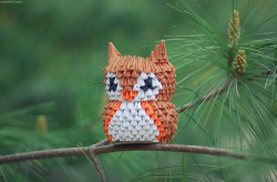 visualgraphic:  Paper Owl