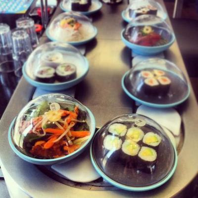 I remember craving Yo Sushi in London Heathrow Airport.