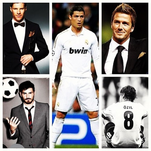 Tomorrowwww 💛☺ #realmadrid #beckham #ronaldo  (Taken with Instagram)