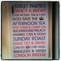 New canvas. Love it. #proudtobebritish! (Taken with Instagram)