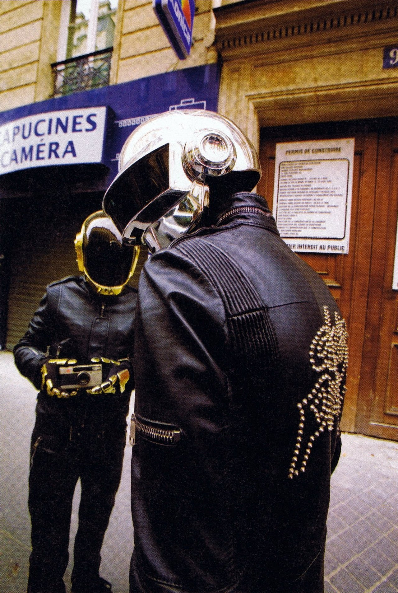 distritomural:  Daft Punk, Paris.