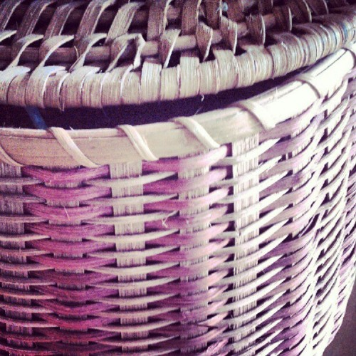 #basket #weave #texture  (Taken with Instagram)