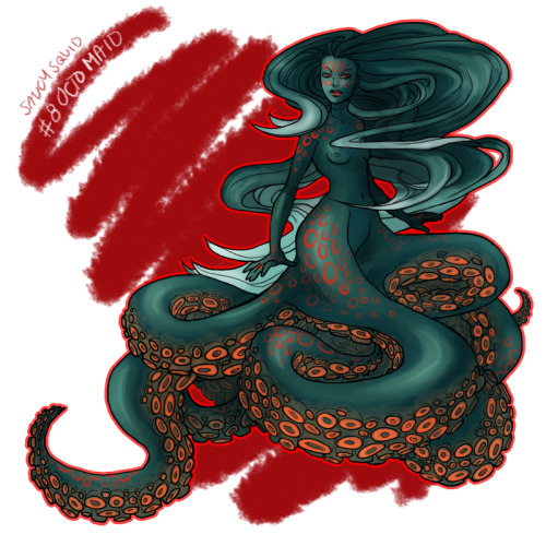 saucysquid:  30 Day Monster Guuuurl Challenge - #8 OctoMaid