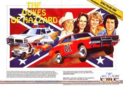 vgjunk:  The Dukes of Hazzard for the ZX Spectrum.