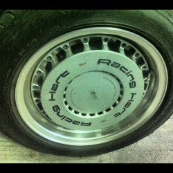 More #wheelwednesday! Peep these oldschool #RacingHart race dish wheels! (Taken with Instagram at Lollicup)