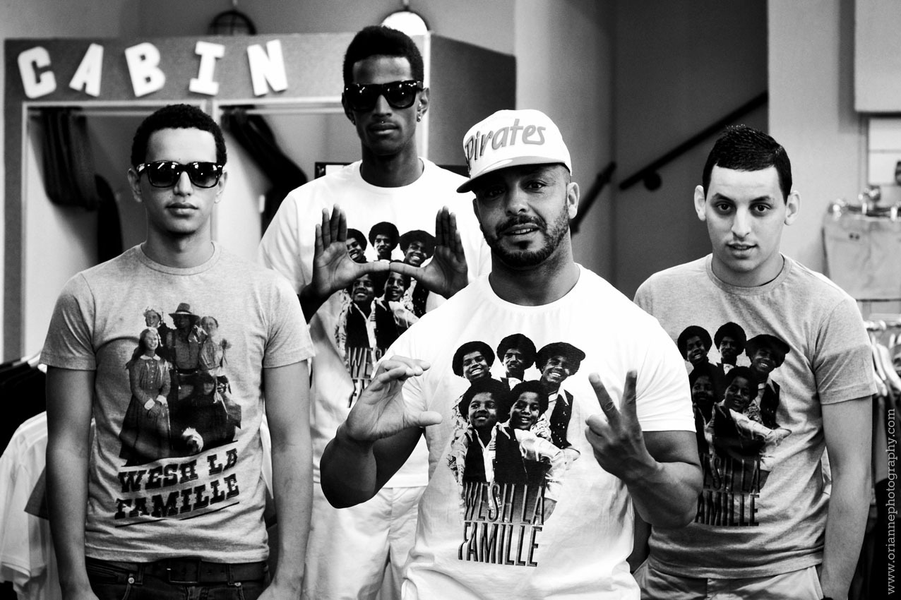 Brand from Marseille. Wesh la famille. Shoot done at Urban Center. More photographs on press publication soon.