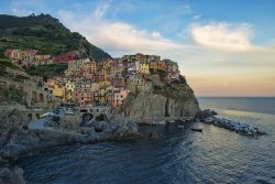 Coastal village of Manarola, Italy
