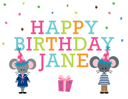 Mimi and George want to wish Jane Boatman Geller a very Happy Birthday today!!
