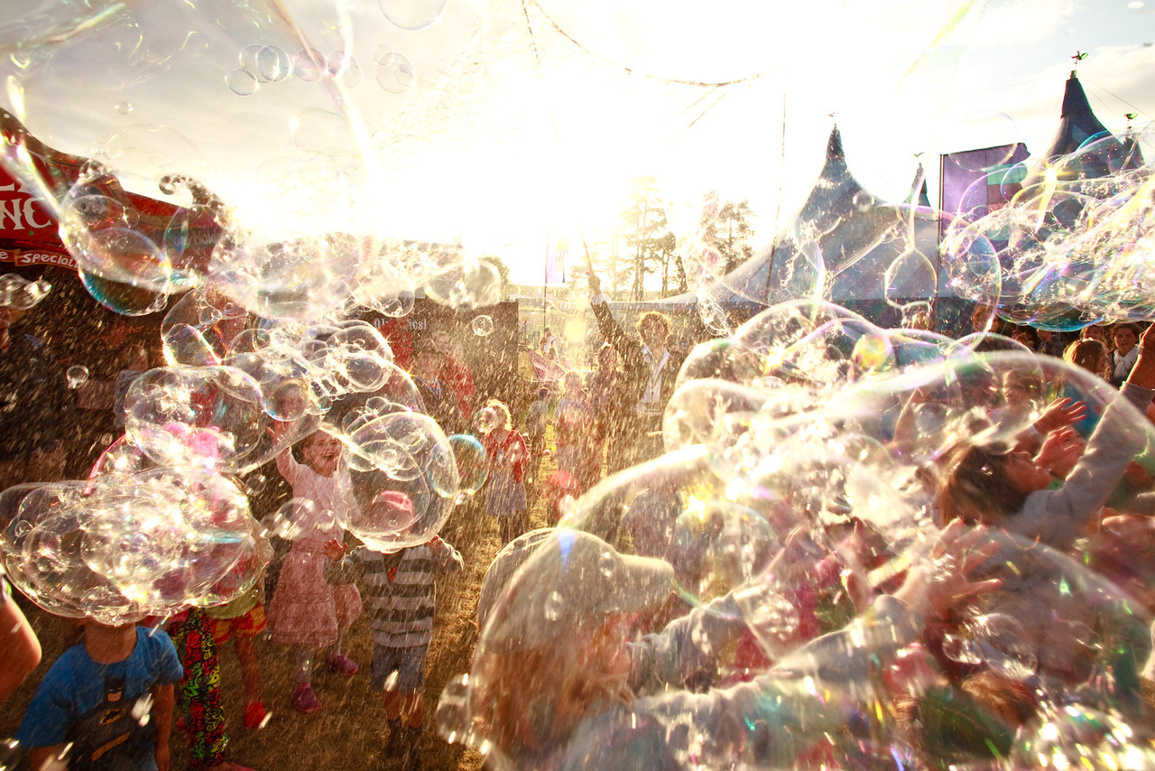 Bubbles….it rare in your life you get stuck in a mass of bubbles….
