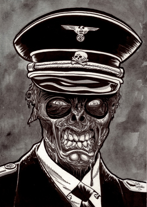 zombify:  Zombie Nazi by Rob Sacchetto of Zombie Daily