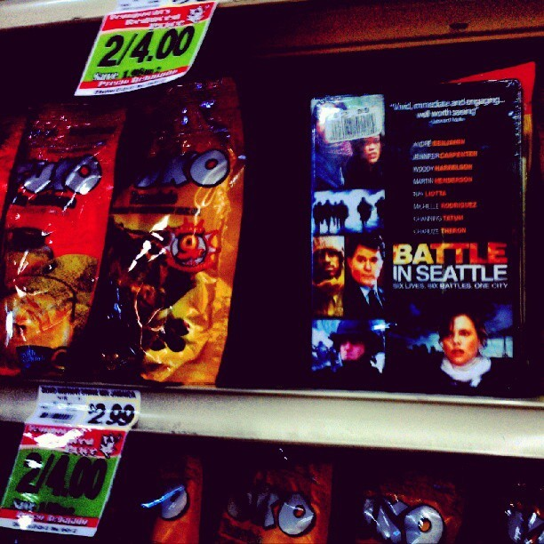 Found a copy of Battle in Seattle in #Cardenas (Taken with Instagram)