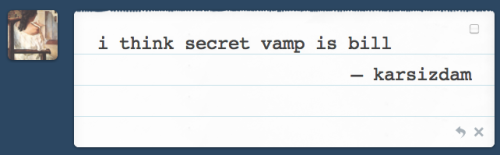I think the 'secret vampire' is neither Bill or Eric or Russell or Roman but someone who's specifically coming for Sookie because of that old pact her fairy (?) family made hundreds of years ago (according to some old TV Guide spoilers) :)