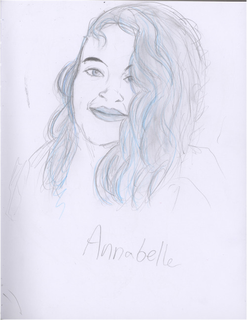 anabelle, a friend of mine that i met at art school, hope you guys like it