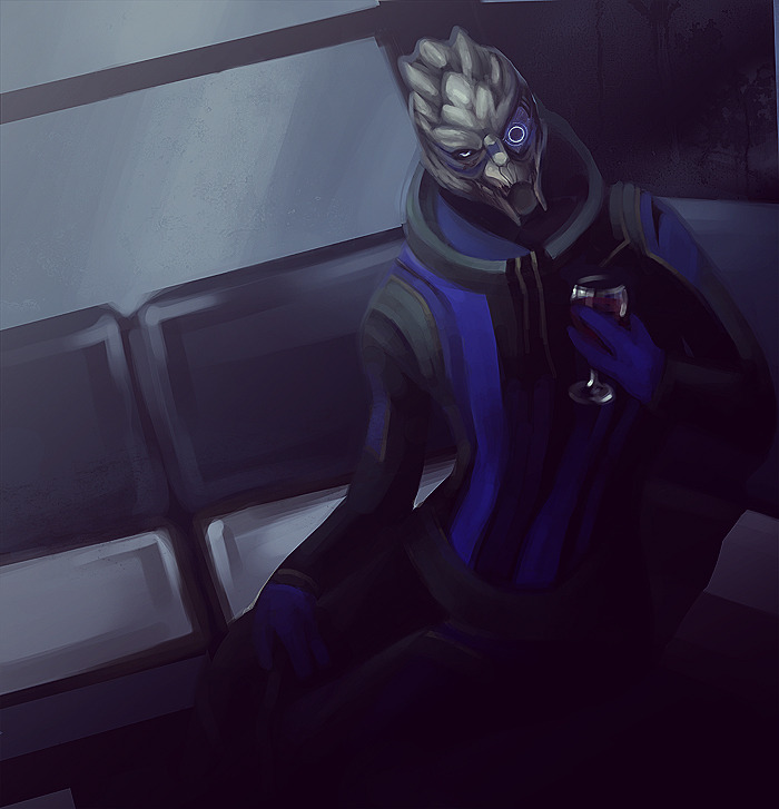 Tempting Garrus by ~Anivel