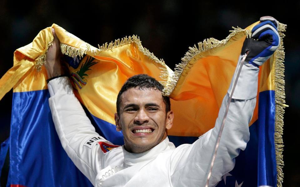Rubén Limardo - Fencer 2nd Gold Medal in Venezuela Olympic History!
