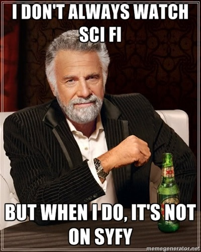 I don't always watch Sci-Fi  http://facebook.com/SaveSGUhttp://twitter.com/SaveSGUhttp://friendfeed.com/savesguhttp://www.vimeo.com/groups/stargateSave SGU Store:http://bit.ly/StargateStorehttp://bit.ly/SGUStoreSG1http://bit.ly/SGUStoreAtlantisStargate SG-1: The Complete Series Collection (2007)http://amzn.to/SG1CompleteDVDStargate: The Ark of Truth/Stargate: Continuum [Blu-ray]http://amzn.to/SG1TAoTSGCBluRayStargate Atlantis: Allhttp://amzn.to/SGAStoreStargate Atlantis: Complete Series Gift Set [Blu-ray]http://amzn.to/SGAGiftSetSGA DVD:Stargate Atlantis - The Complete First Seasonhttp://amzn.to/SGAS1DVDStargate Atlantis - The Complete Second Seasonhttp://amzn.to/SGAS2DVDStargate Atlantis - The Complete Third Seasonhttp://amzn.to/SGAS3DVDStargate Atlantis - The Complete Fourth Seasonhttp://amzn.to/SGAS4DVDStargate Atlantis - The Complete Fifth Seasonhttp://amzn.to/SGAS5DVDSGU: Stargate Universe: Complete First Season [Blu-ray]http://amzn.to/SGUS1BluRaySGU: Stargate Universe - The Complete First Season [DVD]http://amzn.to/SGUS1DVD