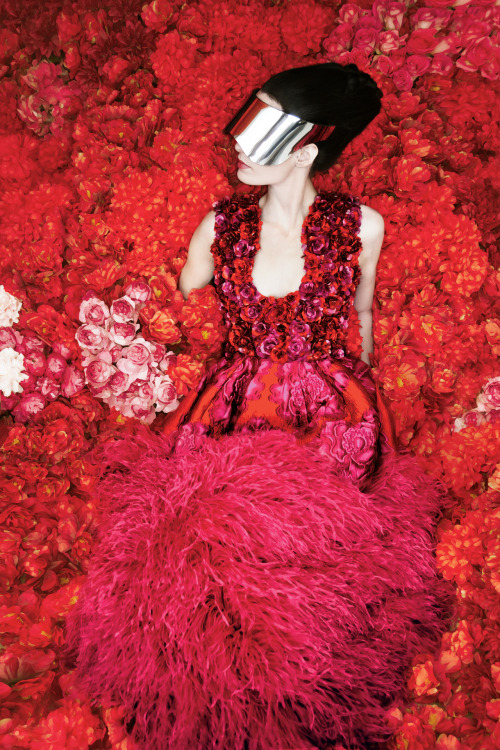 The Art of Fashion Fall 2012 campaign featuring Alexander McQueen. Photographed by Erik Madigan Heck.