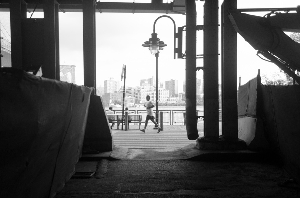 Run  South St Seaport, Manhattan, NY