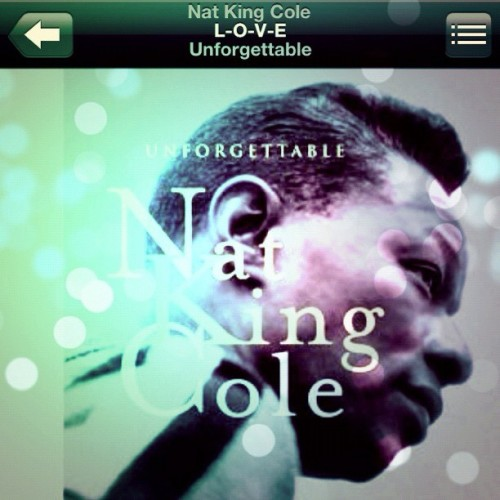 it's a Nat King Cole kinda day <3 #music #natkingcole #standards # (Taken with Instagram)