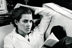 Charlotte Casiraghi for Gucci by Inez van Lamsweerde and Vinoodh Matadin/