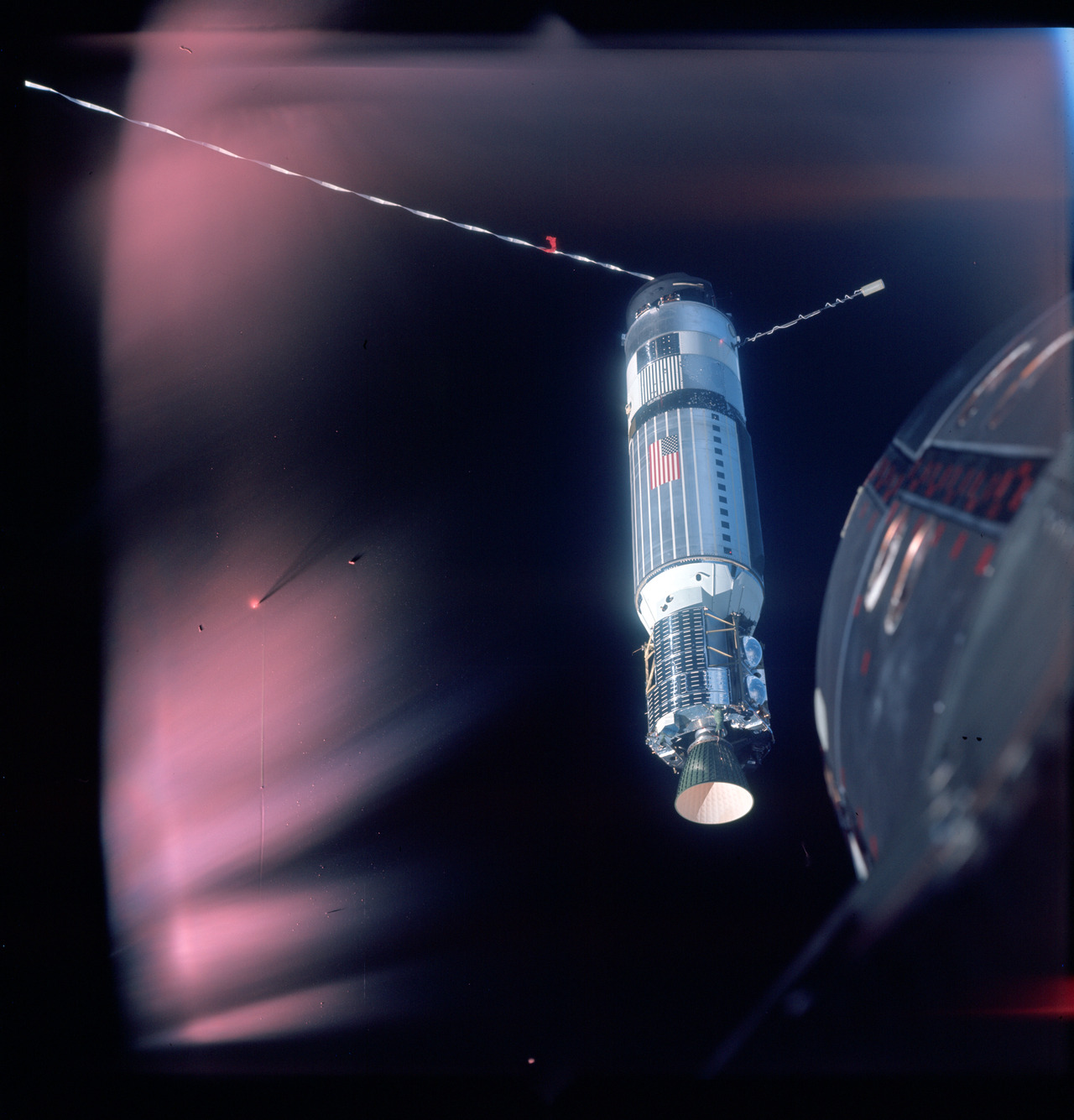 NASA's Project Gemini was designed to test technologies and techniques for the Apollo Program. The two-man Gemini spacecraft was larger and more sophisticated than its Mercury predecessor. The spacecraft was designed by a team of NASA engineers led by Jim Chamberlin, and built by McDonnell Aircraft, in St Louis. There were two uncrewed test flights (1964, 1965) and 10 crewed (March 23, 1965 until November 11–15, 1966) all launched on a Titan II missile. The Gemini flights helped NASA learn to work and live in space, paving the way for the successful Apollo human landings on the Moon.