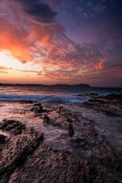 Sunset at Currumbin Alley, Gold Coast, Australia
