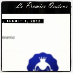 New piece on Le Premier Orateur. Read it. Spread it. http://lepremierorateur.blogspot.nl/2012/08/by-glenn-fennema-kings-of-indigo-k.html?m=1 (Taken with Instagram)