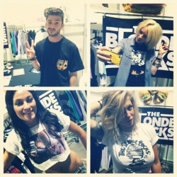 bridgetblonde:  Ayyyy….got all these fresh new tees up on the site www.theblondelocks.com LIMITED RUN so get em quick!!! #theblondelocks #agendatakeover #agendashow @agendashow @jocelynicole_ @deeesoto_pop @alyshanett @fotofetish (Taken with Instagram)