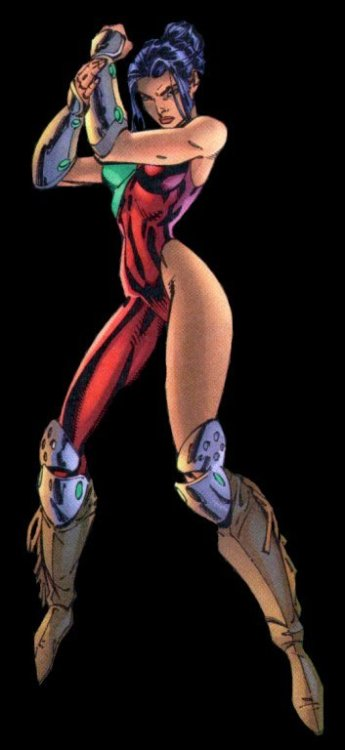 Sarah Rainmaker by J. Scott Campbell