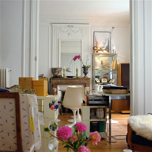 my dream Parisian abode. photo by Clarisse Demory.