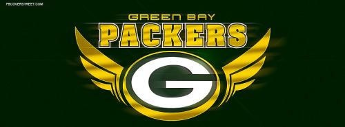 Green Bay Packers Logo 3 Facebook Cover