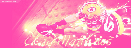 Clay Matthews Pink Facebook Cover